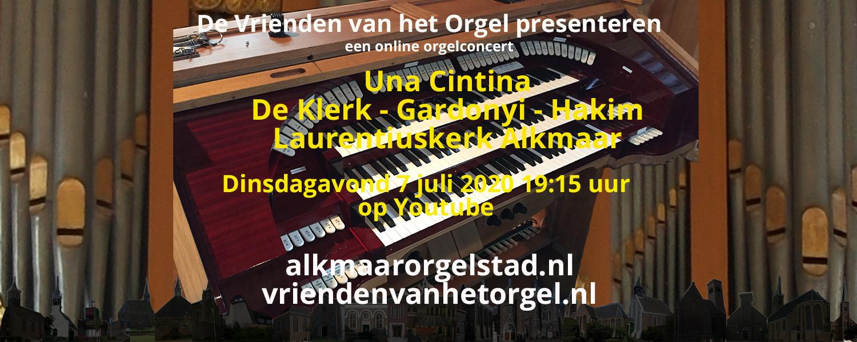 Online concert door Una Cintina