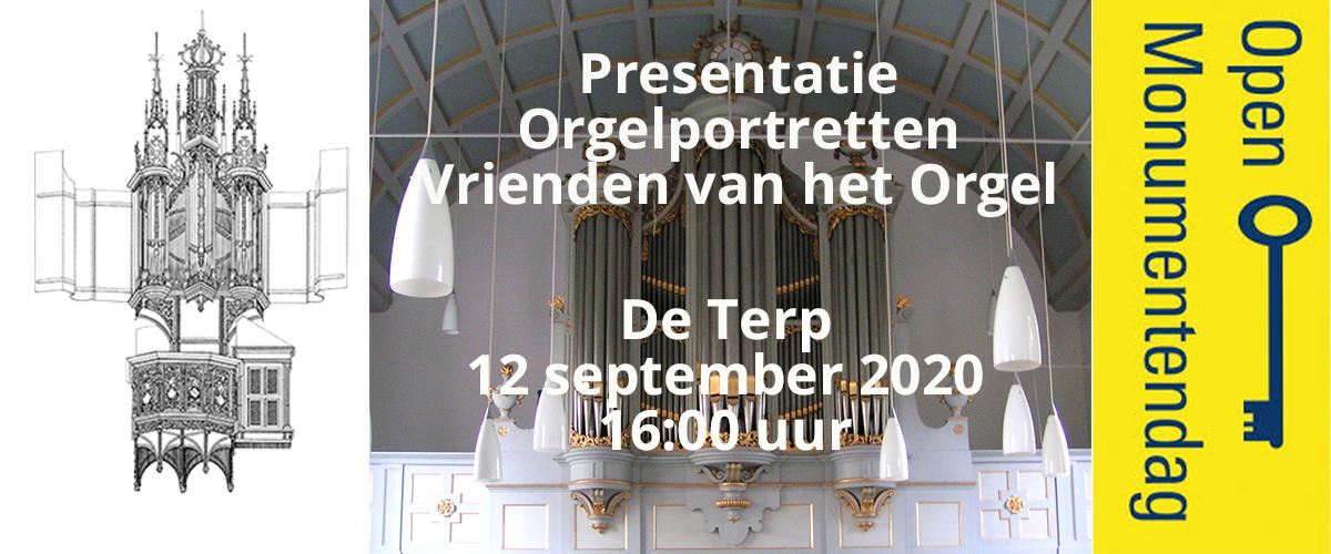 Presentatie orgelportretten De Terp Oudorp