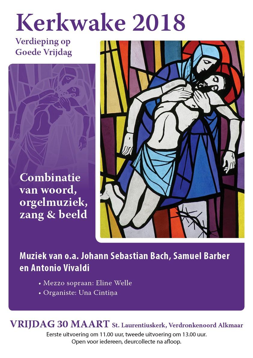 Kerkwake in de Laurentius Alkmaar