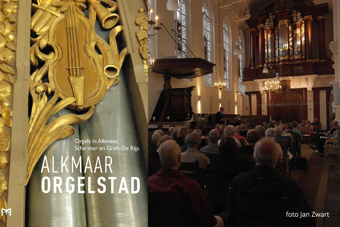 Boek Alkmaar Orgelstad gepresenteerd